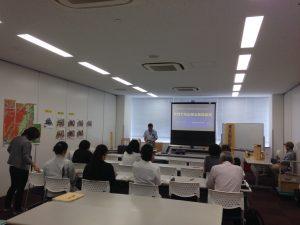 愛知建築士会豊田支部女性委員会主催の家具固定講習会