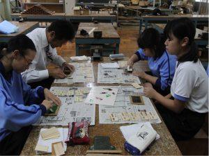 豊田市若園中学校 体験学習