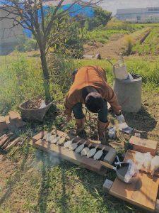 フォーレスト農園 五平餅に自家製味噌だれ